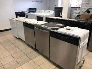 ASSORTED STOCK DISHWASHERS - 1 YEAR WARRANTY - USED HOME APPLIANCE WAREHOUSE 16665 111 AVE EDMONTON