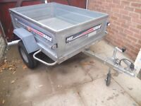ERDE 142 ALL GALVANISED TRAILER