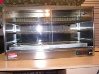 Parry Heated Pie Display Cabinet Cupboard
