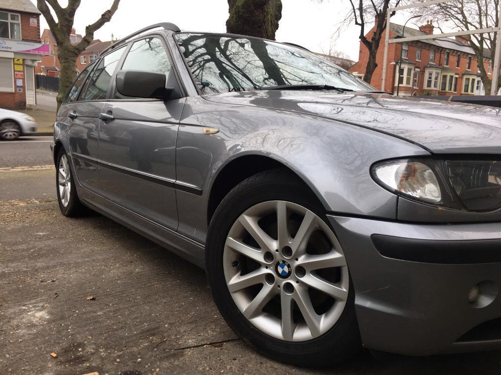For sale - BMW E46 touring estate DIESEL AUTOMATIC 55 reg SILVER/GREY 3 series