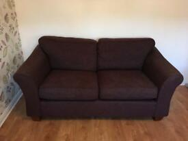 Large 2 seater Marks and Spencers sofa