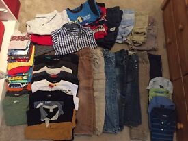 MUST GO - Boy clothes bundle - 4 years - over 45 items (many Gap)