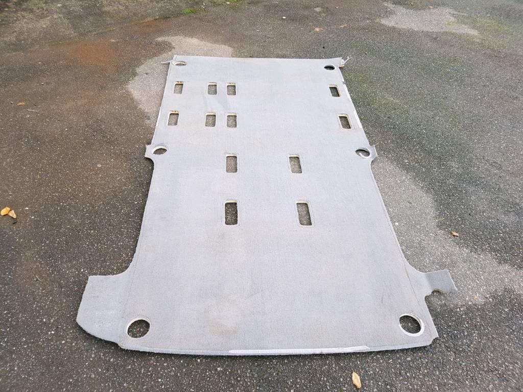 Vw t5 twin slider caravelle /shuttle rear carpet (factory vw carpet)