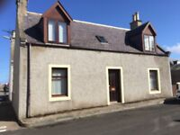 Two bedroom house for rent in Portknockie