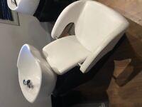 Backwash Basin & Chair