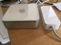 CAN POST - Apple Mac Mini - 100% FULLY WORKING - Intel Mac mini + 2GB RAM + os 10.6 - BARGAIN AT £30