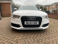 Audi A6 S-line Auto White