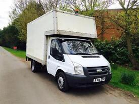 Ford Transit Luton 100 T350 , low miles, with del tail lift