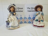 'The House of Valentine' Porcelain Dolls