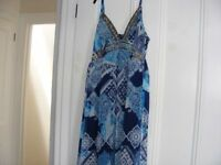 Apricot Maxi Dress Size Small (6 To 8) Only Worn Once.