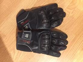 Men's Viper XL motorbike gloves RRP £40