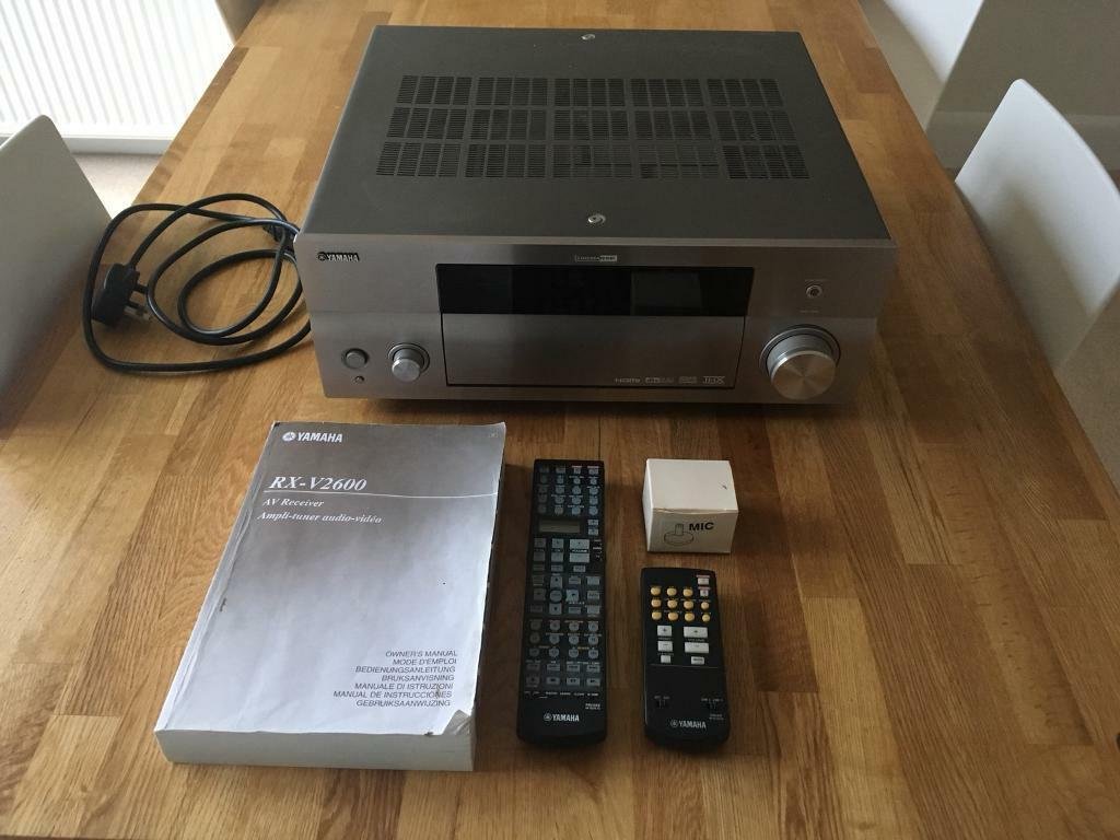 Yamaha RX-V2600 Dolby THX 7-Channel Cinema Theatre Amp   in Ipswich,  Suffolk   Gumtree