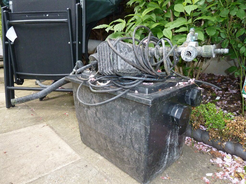 Fish pond filter and pump buy sale and trade ads for Koi pond pumps for sale