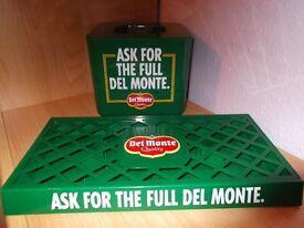 Vintage Retro - Del Monte Ice Bucket and Drip Tray