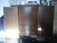 retro bar cabinet