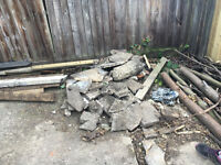 FREE rubble bricks hardcore