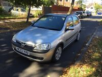 VAUXHALL CORSA SXI 1.2 PETROL, 12 MONTH MOT, LOW MILLAGE, 6 SERVICE STAMPS 2 KEYS