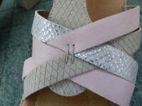Reiker sandals and handbag