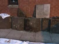 Free slabs need a good clean about 40-50