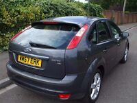 Ford Focus 1.8 Zetec Climate 5dr Full Service Record, New MOT,