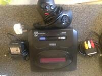Sega mega drive games console