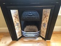 *** Original tiled fireplace ***
