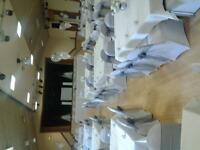 wedding chair covers and sashes for sale plus other wedding items ((ideal business opportunity)