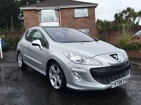 2008 PEUGEOT 308 GT 150 BHP ** ALL MAJOR CARDS ACCEPTED