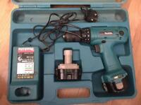 """Makita 6313D 12V 1/2"""" Cordless Drill/Driver not working needs fixing"""