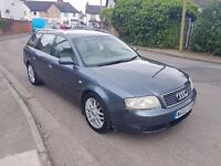 2003 03 Audi A6 1.9 Tdi Pd Diesel Estate Blue Touring 5 Speed Limited Edition