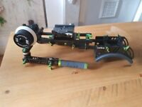 Lanparte Professional Camera Shoulder Rig Support and Follow Focus
