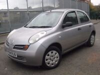 NISSAN MICRA 1.2 NEW SHAPE 2004 === £795 ONLY === 5 DOOR HATCHBACK