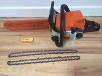 Stihl ms170 Chainsaw for sale spares or repair Chain saw
