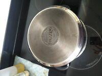 Prestige 24cm/5.7L stainless steel stockpot