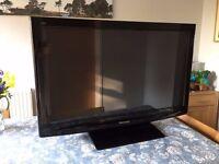 """Panasonic TX-P42C10B 42"""" plasma TV"""