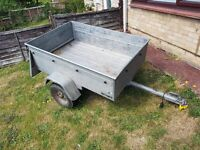 Galvanised Car trailer 3ft x 4ft (Not you cheap halfords one )