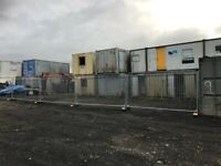Renting yard land parking space office container