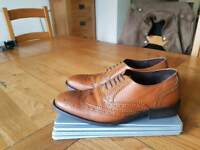 moss bros leather shoes