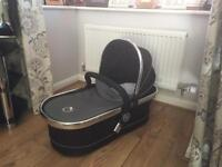 Icandy Peach 2 carrycot and seat unit BLACKJACK