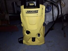 K4 karcher pressure washer mint used 3 times cost 180