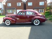 1940's Cadillac LaSalle | Classic Car | Vintage Car | Weddings | Proms | Special occasions