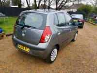 Hyundai i10 classic 1.2cc fsh one owner from new excellent mpg cheap car Kent