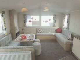 STUNNING DOUBLE GLAZED GCH STATIC CARAVAN FOR SALE - ON NORTH EAST COAST - NR WHITLEY BAY, CRESSWELL