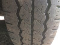 vw t5 transporter 215/65/16 c wheel and tyre