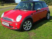 Mini Cooper 1.6 Petrol 3 Door Hatch