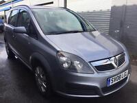 SALE! Bargain Vauxhall zafira 7 seater, full years MOT ready to go