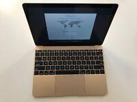 " Apple MacBook 12"" Gold Early 2015 Retina 1.1GHz 256GB SSD 8GB Ram Sierra Not Macbook Pro Touch Bar"