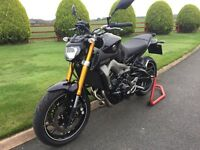 October 2014 Yamaha MT-09