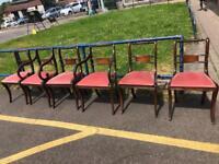 6 Italian dining chairs