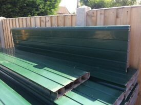 Used Plastic fencing boards